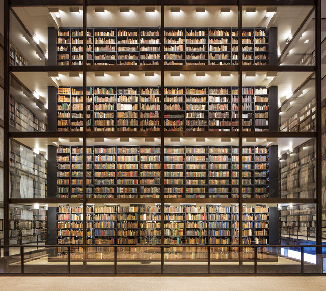 , 'Beinecke, Yale University, New Haven,' 2017, Undercurrent Projects