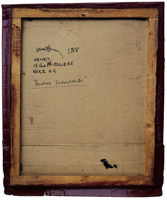 , 'Verso n°21, Relief-Carton rouge Médoc, par Bernar Venet, collection Mamac, Nice,' 2007, Modernism Inc.