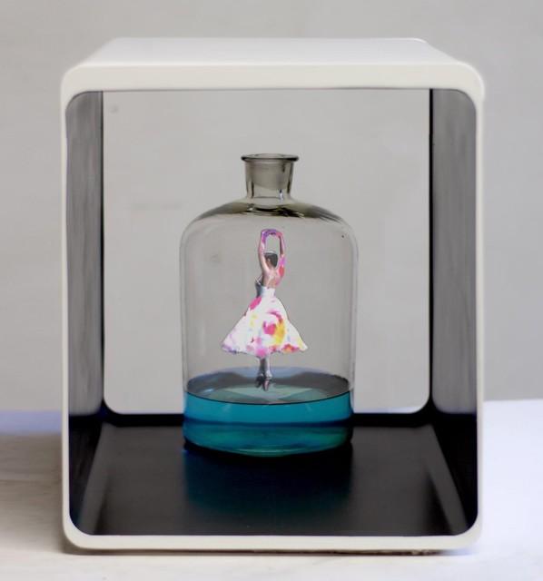 """, '""""Cirrocumulo in bottiglia"""",' 2018, Galerie Vivendi"""
