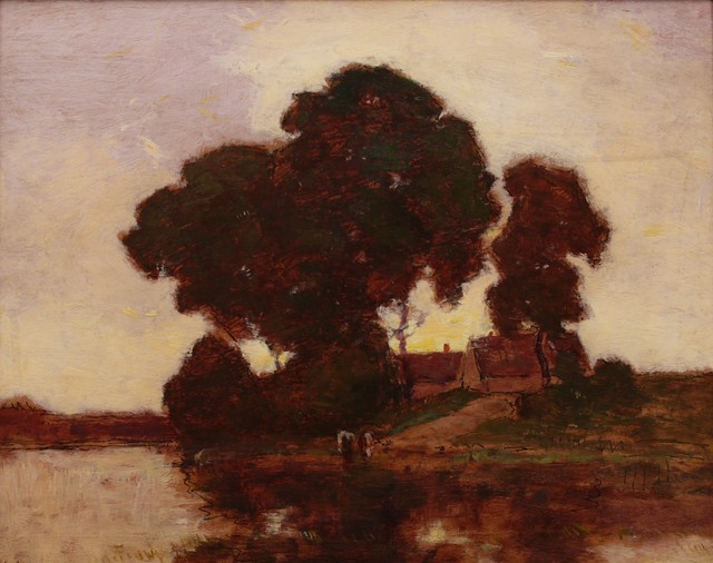 Frederick Kost, 'Sunset on the James River', ca. 1910, Private Collection, NY