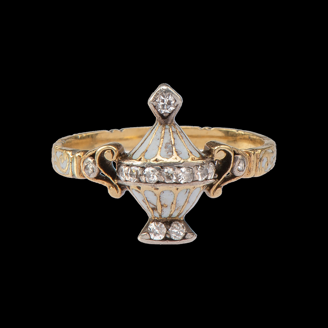, 'Mourning Ring with Urn ,' c. 1760-1780, Les Enluminures