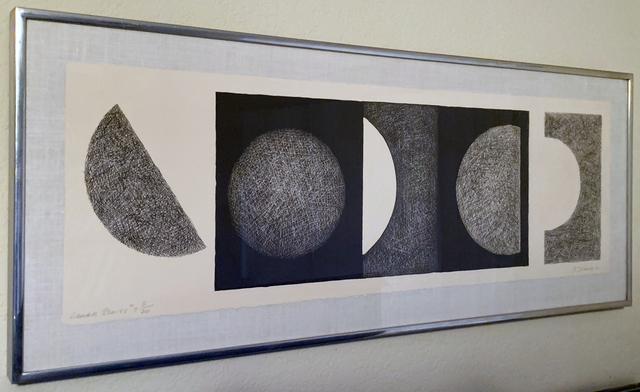 Dorothy Dehner, 'Lunar Series #7, 8/20', 1971, iMuseum Vegas