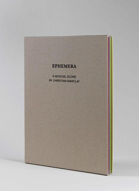 , 'Ephemera,' 2009, mfc - michèle didier