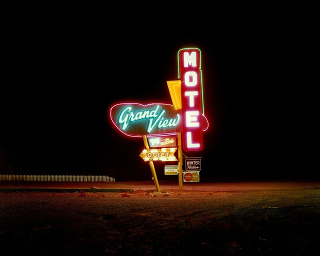 , 'Grandview Motel, Albuquerque, New Mexico,' 1990, photo-eye Gallery