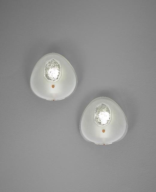 Max Ingrand, 'Pair of wall lights, model no. 1944', ca. 1958, Phillips