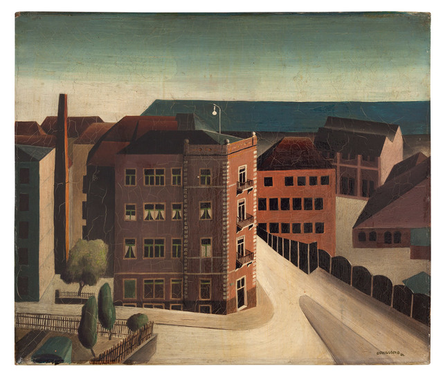 , 'Würzburg- Grombühl,' 1924, Galerie Michael Hasenclever