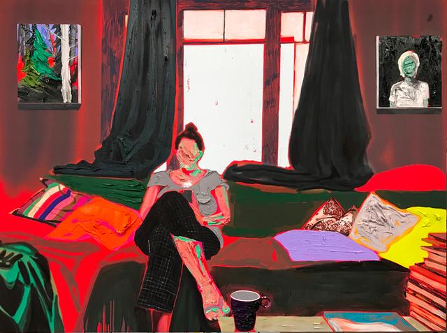 , 'Living Room,' 2017, Galerie Antoine Ertaskiran