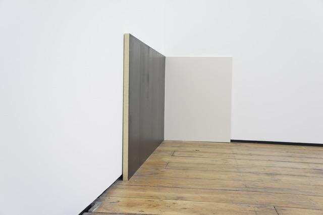 , 'Untitled (dark blue/white),' 2012, Hilary Crisp