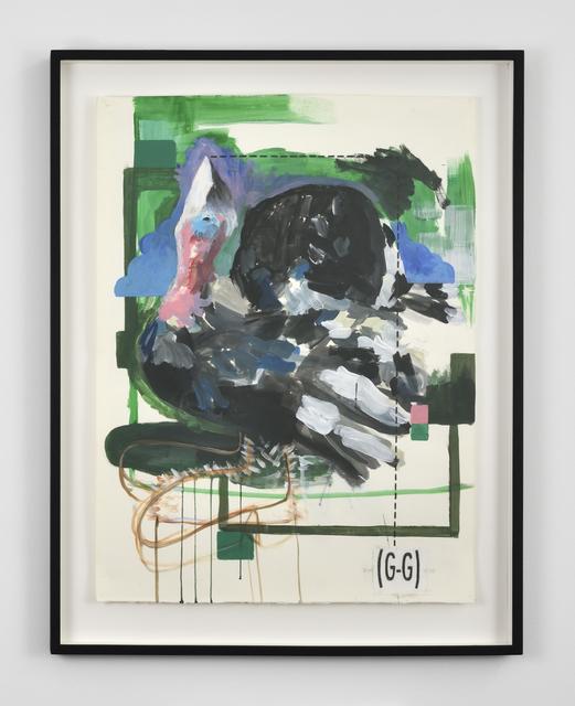 , 'Din (G-G)noD,' 2012, Galerie Thomas Bernard