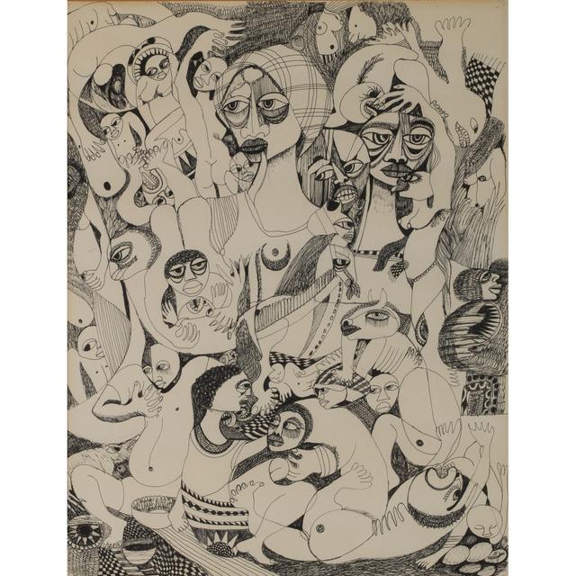 Malangatana Ngwenya, 'Untitled', 1981, PIASA