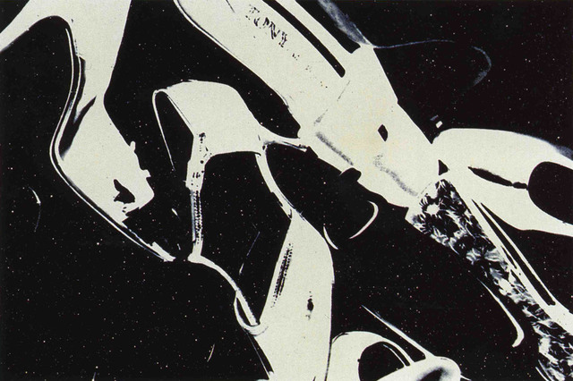 Andy Warhol, 'Shoes, F & S II.255', 1980, Print, Screenprint with diamond dust on Arches Aquarelle (cold pressed) paper, Andipa