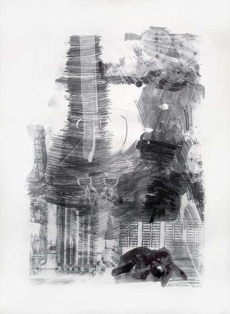 Robert Rauschenberg, 'Earth Tie, Stoned Moon Series', 1969, Woodward Gallery