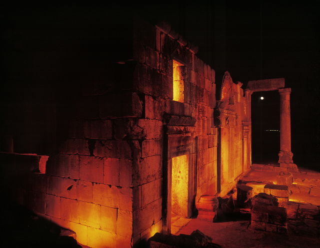 , 'Ancient Synagogue of Bar Am, Israel,' 1995, Vision Neil Folberg Gallery