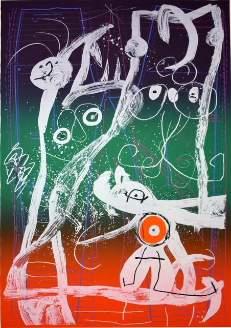 , 'Fashion Frenzy – Blue, Red, Green | Le délire du couturier - bleu, rouge, vert,' 1969, Gilden's Art Gallery