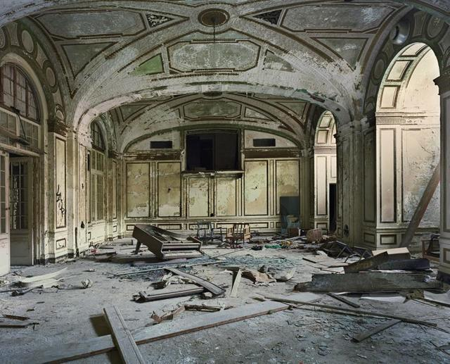 Andrew Moore, 'Ballroom, Lee Plaza Hotel, Detroit', 2008, Photography, Chromogenic print, Alex Daniels - Reflex Amsterdam