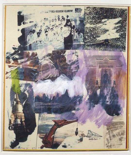 , 'Thai X,' 1983, Academy Art Museum