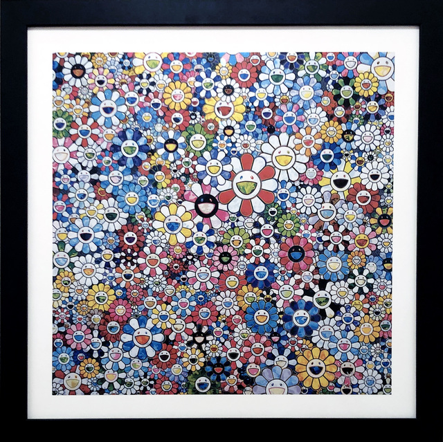 Takashi Murakami, 'Flowers with Smiley Faces', 2013, DTR Modern Galleries