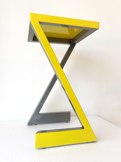 , 'Yellow Table,' 2018, {9} The Gallery
