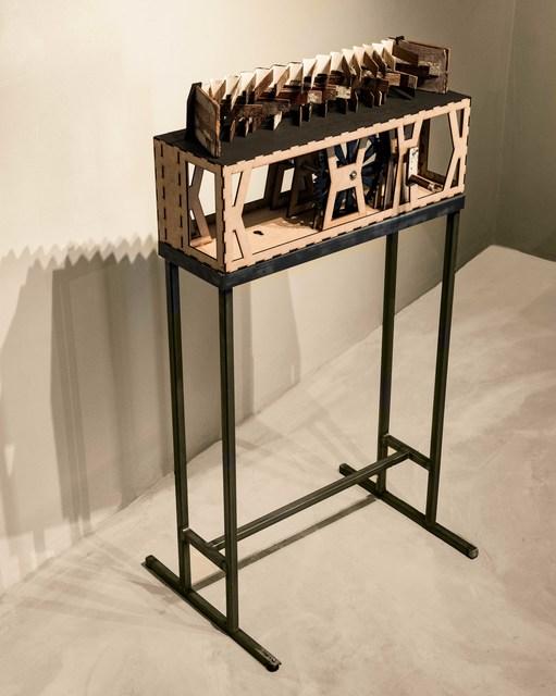 , 'Floor uprooting device 1,' 2018, Nando's & Spier Arts Trust