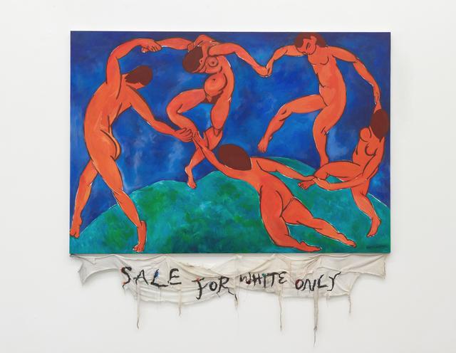 , 'Episteme Sabotage – Sale for White Only,' 2014, Philipp von Rosen Galerie