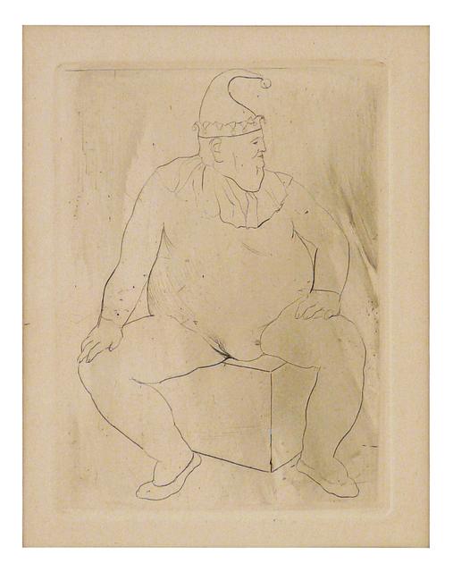 Pablo Picasso, 'Le Saltimbanque au Repos', 1905, Print, Drypoint, John Szoke