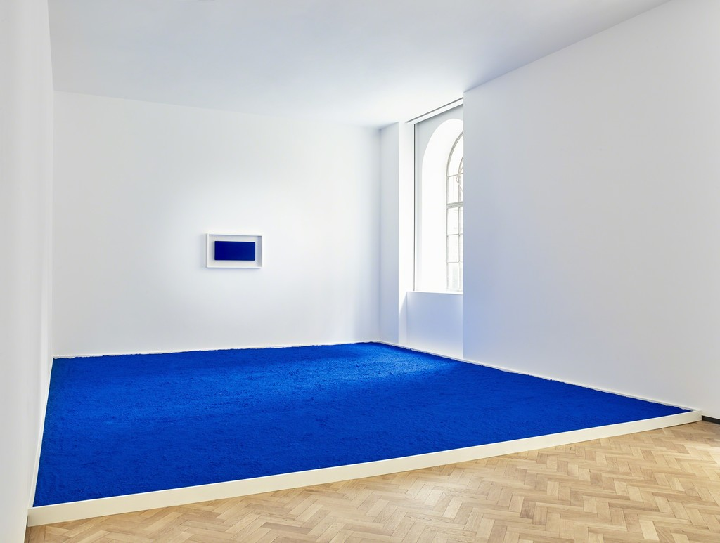 Yves Klein, 'Pigment pur bleu (PIG 1)', Original artwork 1957, Re-creation 2018