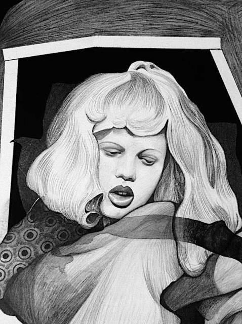 , 'Chingollywood Drawing 2,' 2018, Pierogi