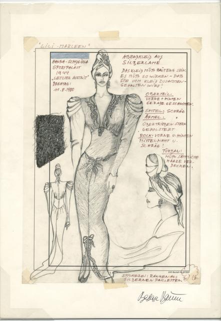 , 'Lili Marleen, 1980,' 1980, Gropius Bau