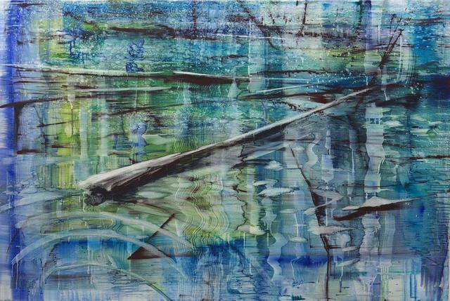 , 'Taylon Pond 2,' 2018, Galerie Andreas Binder