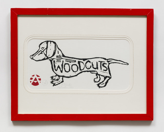 , 'Untitled (AF37 Dog Woodcuts) ,' 2000, The Good Luck Gallery