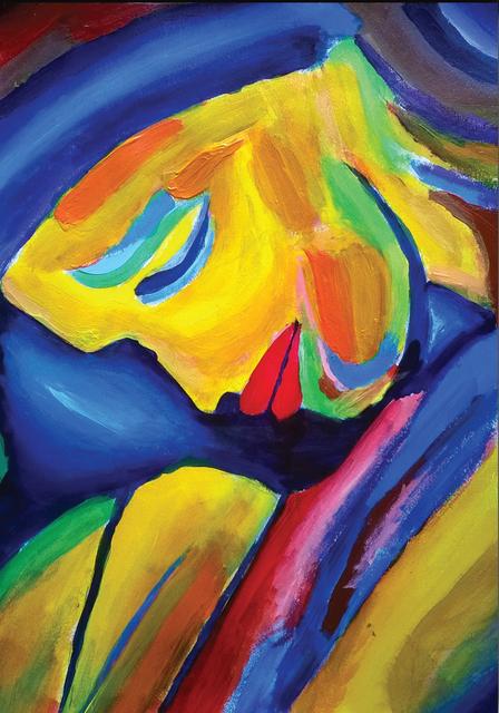 , 'Joy and Sorrow,' 2018, Janet Rady Fine Art