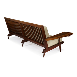 Settee With Free-Edge Arm, New Hope, Pennsylvania