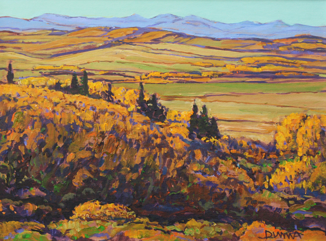, 'Valley Below,' , Wallace Galleries