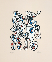 Jean Dubuffet, 'Parade nuptiale (Courtship),' 1973, Phillips: Evening and Day Editions