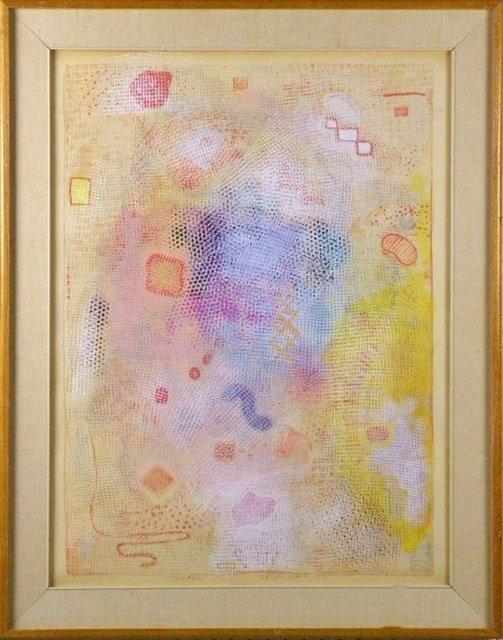 "Robert Natkin, '""Intimate Lighting"" 1973 Robert Natkin Mixed Media Painting', 1973, Lions Gallery"