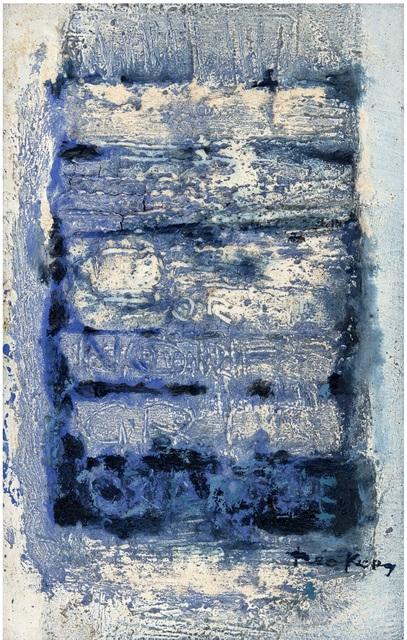 , 'Ecrit sur le Silence ,' 1962, Galerie F. Hessler