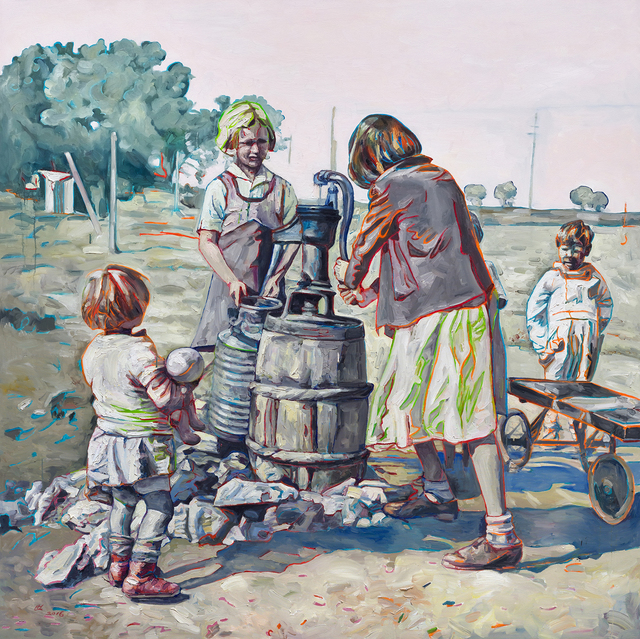 , 'Fetching Water I,' , Gail Severn Gallery