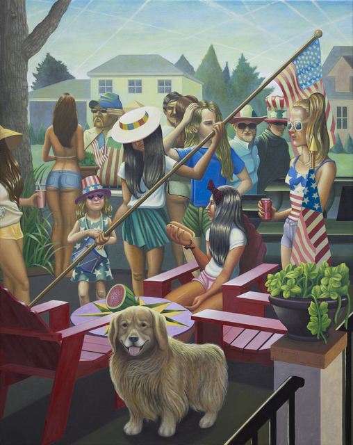 , '4th of July,' 2015, Stuart & Co. Gallery