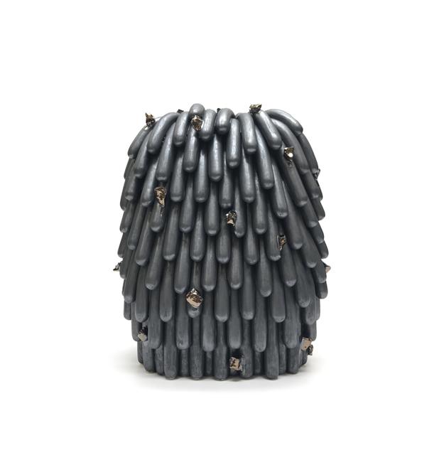 , 'Asphalt Husky Dust Furry with Rocks #2,' 2018, Mindy Solomon Gallery