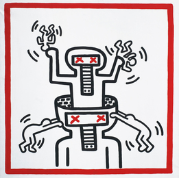 Keith Haring, 'Untitled,' 1990, Sotheby's: Contemporary Art Day Auction