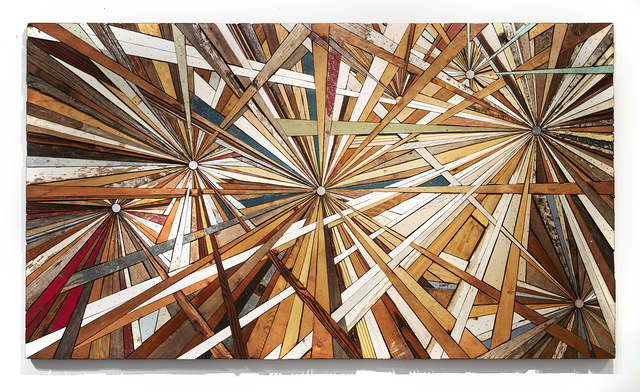 , 'Composite Memory Multi-Burst (Debris Collected after Hurricane Sandy from NJ Shore Towns),' 2012, Jonathan LeVine Projects
