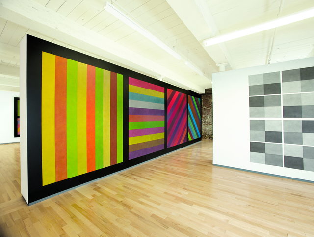 , 'Wall Drawings #681 C and #414 ,' 1993, MASS MoCA