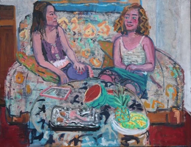 , 'Dinner Party,' 2018, Galería Arteconsult