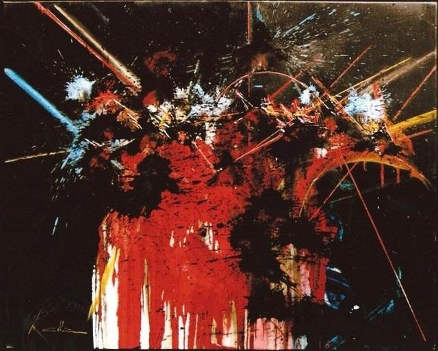 , 'OBSESSIONS VIDES,' 1988-89, Studio Guastalla