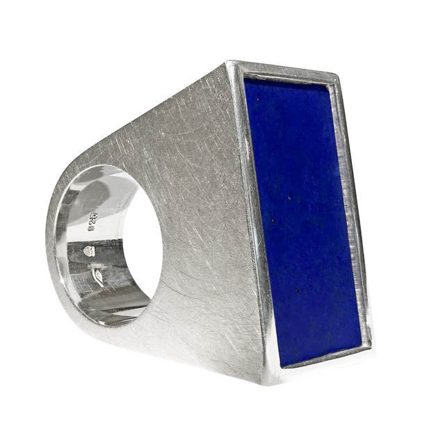 , ' Lapis Lazuli Blocks Ring,' 2017, Szor Collections