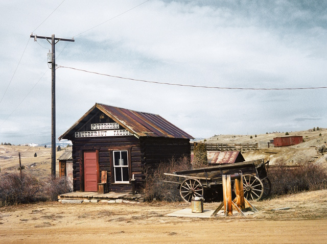 Wim Wenders, 'Sauerkraut Factory, Montana 2003', 2015, Outset Benefit Auction