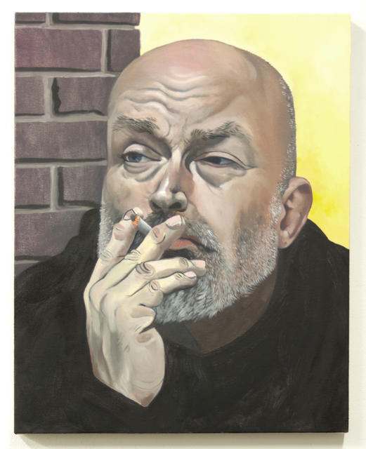 , 'Sunny and Sinister (Portrait of Mark Verabioff),' 2017, Simon Lee Gallery