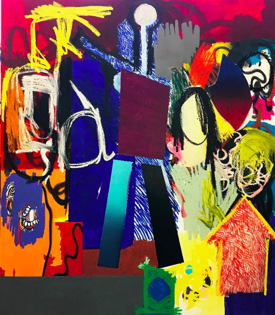 , 'Blue and Orange,' 2017, Galerie Krinzinger
