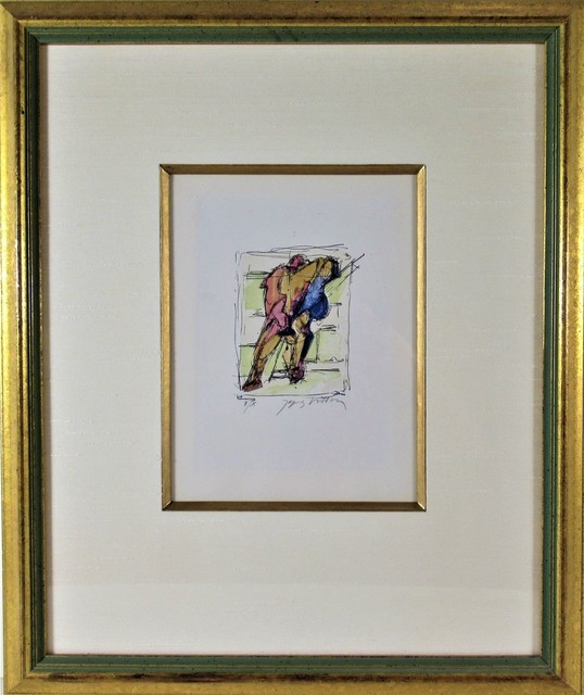 Jacques Villon, 'Poet', 1958, Joseph Grossman Fine Art Gallery