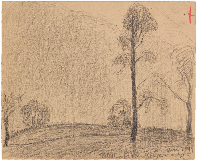 , 'BLOOMFIELD RIDGE MAY 21-17,' 1917, Jerald Melberg Gallery